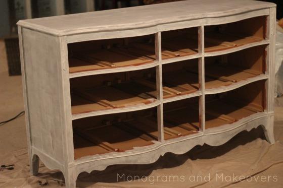 Dresser to Entertainment Center Dresser Primed