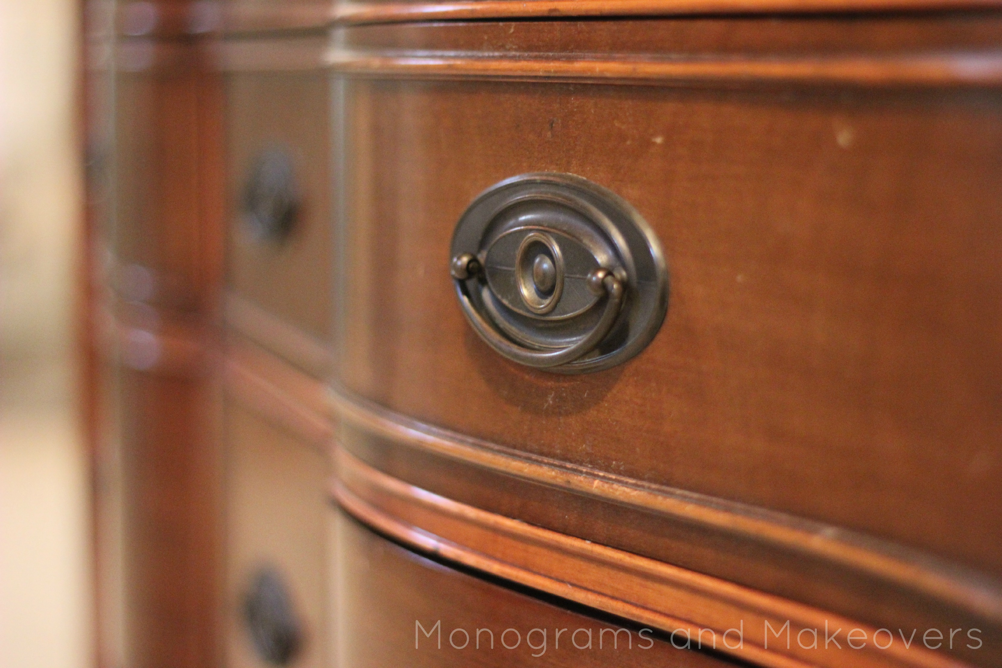 Dresser to Entertainment Center {Tutorial} | Monograms and Makeovers